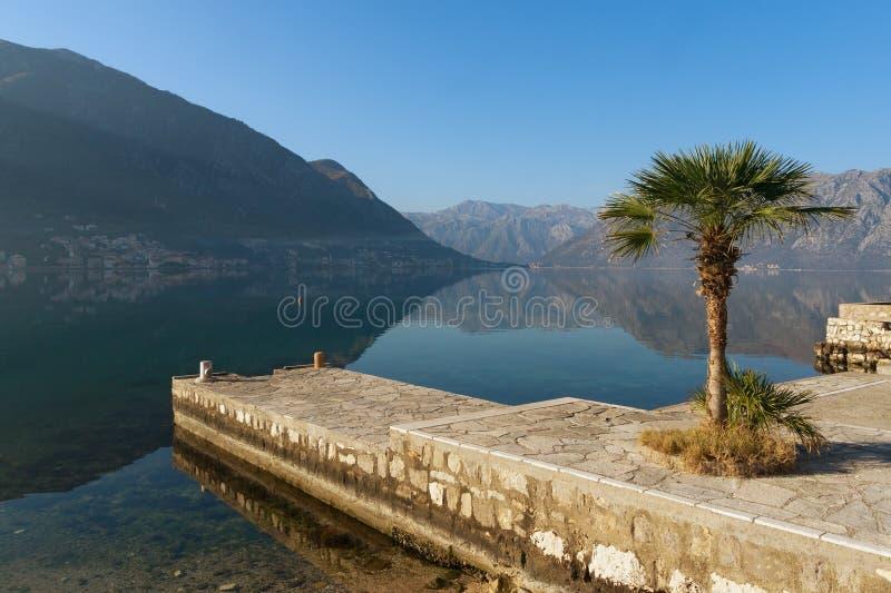 Download Bahía de Kotor, Montenegro foto de archivo. Imagen de montenegro - 64212344