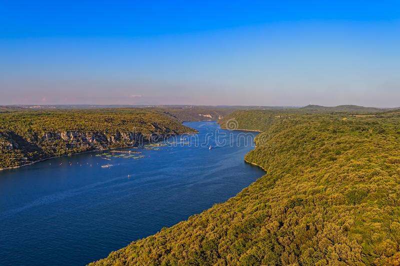 Bahía de Lim fotografía de archivo libre de regalías