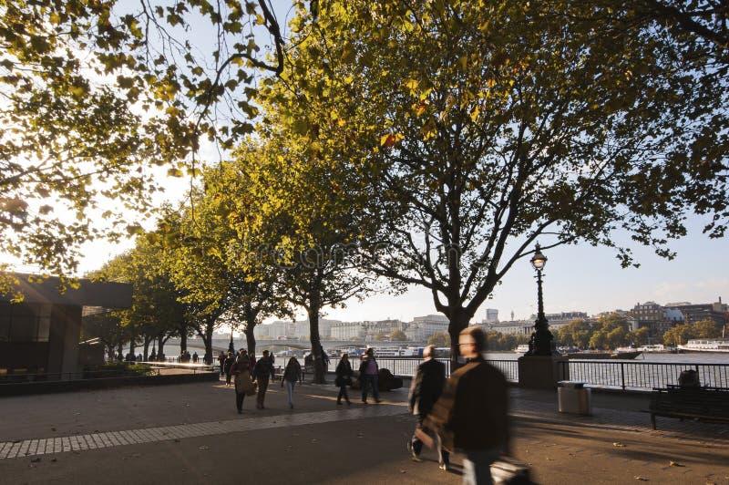 Bahía de Londres fotografía de archivo libre de regalías