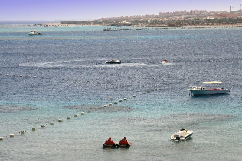 Bahía de Makadi fotografía de archivo