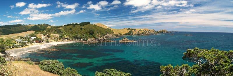 Bahía de Matauri foto de archivo
