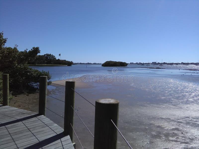 Bahía de Sarasota foto de archivo