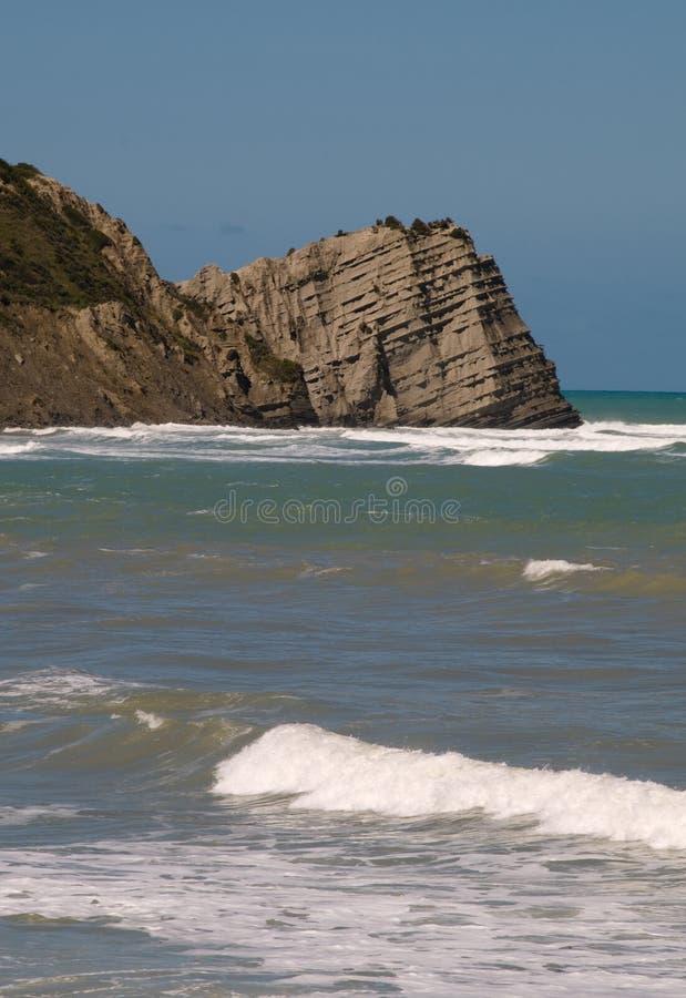 Bahía de Tokomaru imagen de archivo libre de regalías