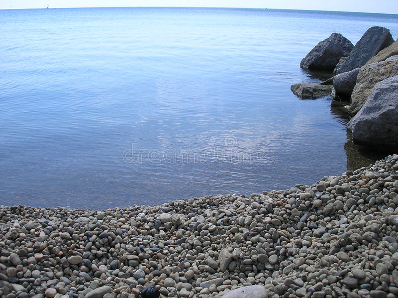 Bahía del mar fotografía de archivo libre de regalías