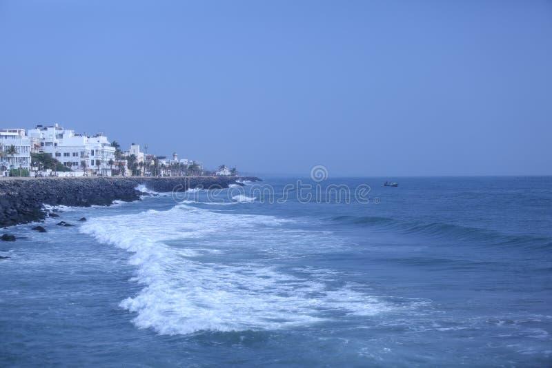 Bahía del mar de Bengala fotografía de archivo libre de regalías