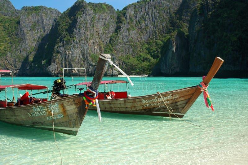 Bahía del maya, Tailandia fotos de archivo