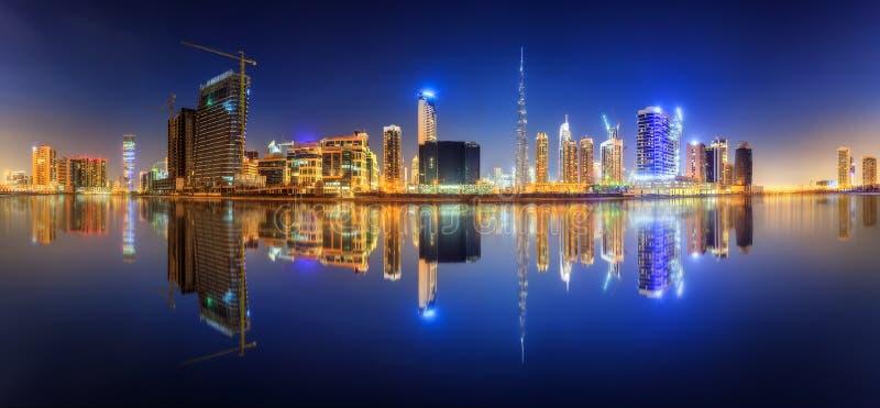 Bahía del negocio de Dubai, UAE fotos de archivo