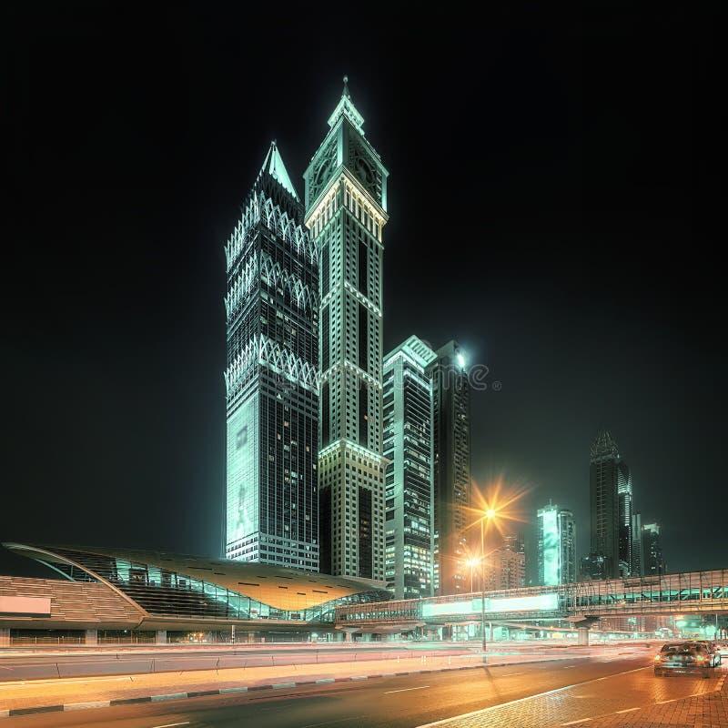 Bahía del negocio de Dubai, UAE imágenes de archivo libres de regalías