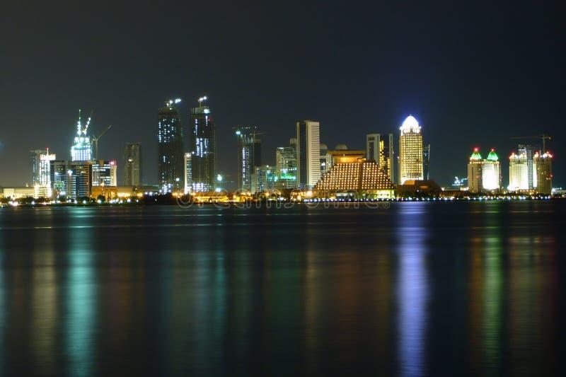 Bahía del oeste en la noche fotografía de archivo libre de regalías