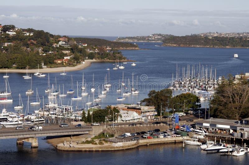 Bahía del puerto imágenes de archivo libres de regalías