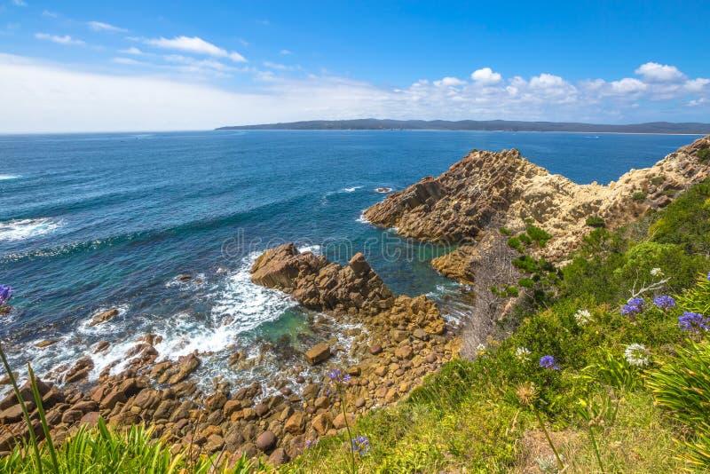 Bahía doble, Nuevo Gales del Sur Australia fotos de archivo