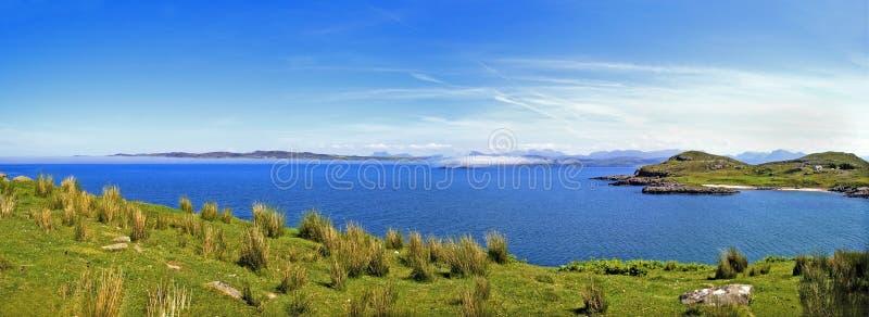 Bahía Escocia de la oveja del lago fotografía de archivo