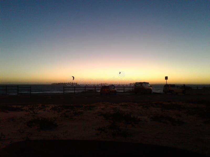 Bahía grande Ciudad del Cabo imagen de archivo