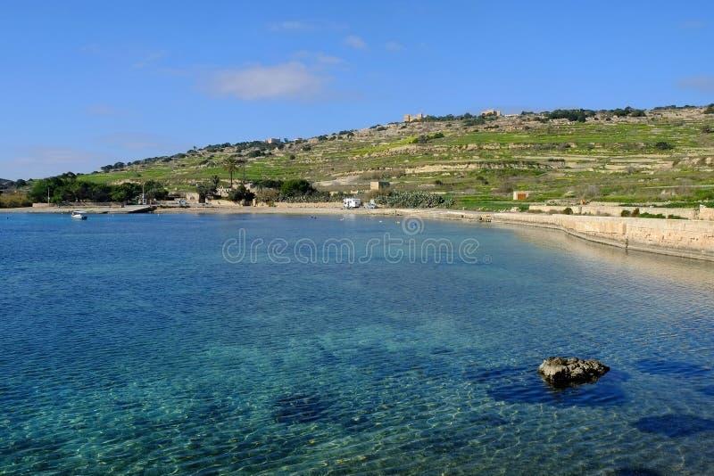 Bahía Malta de Mistra imagenes de archivo
