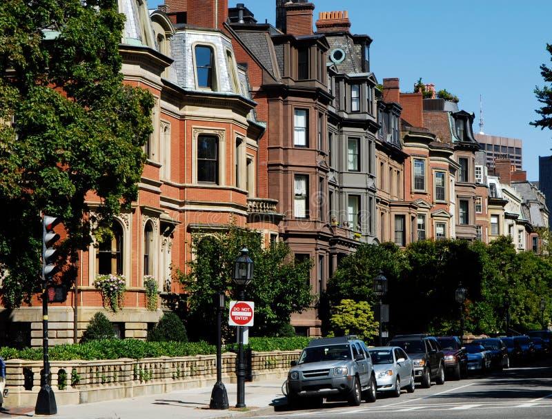 Bahía posterior Boston foto de archivo libre de regalías
