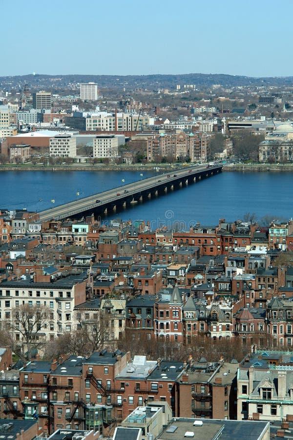 Bahía posterior de Boston fotografía de archivo libre de regalías