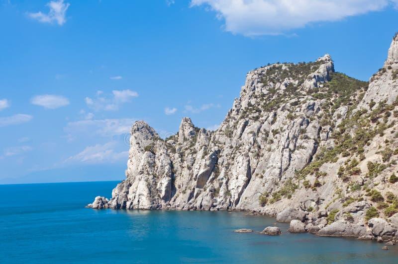 Bahía real en Crimea imagenes de archivo