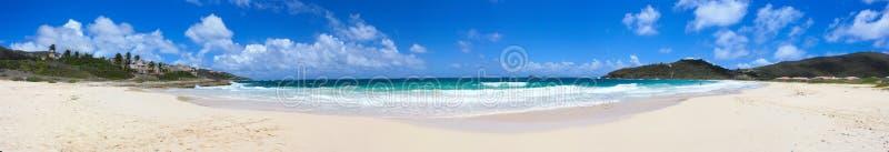 Bahía Sint Maarten del guano fotografía de archivo