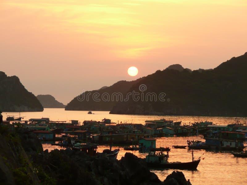 Bahía Vietnam de Halong imagen de archivo