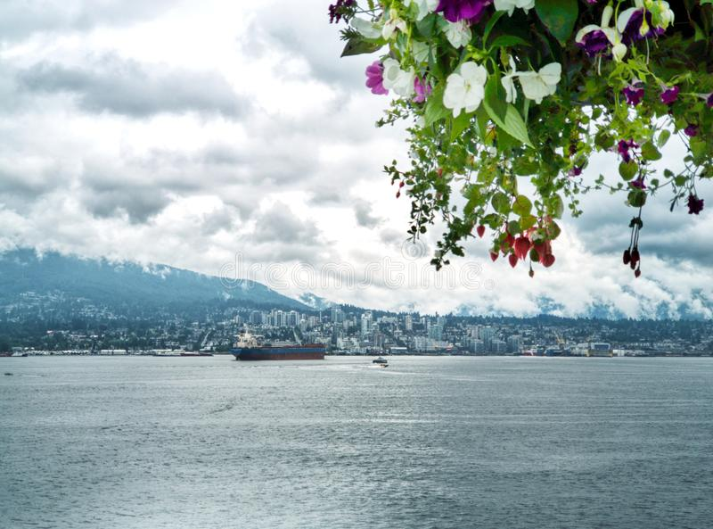 Bah?a de Vancouver fotos de archivo