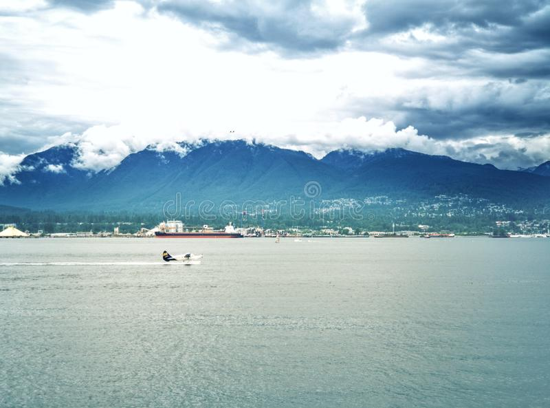 Bah?a de Vancouver fotografía de archivo