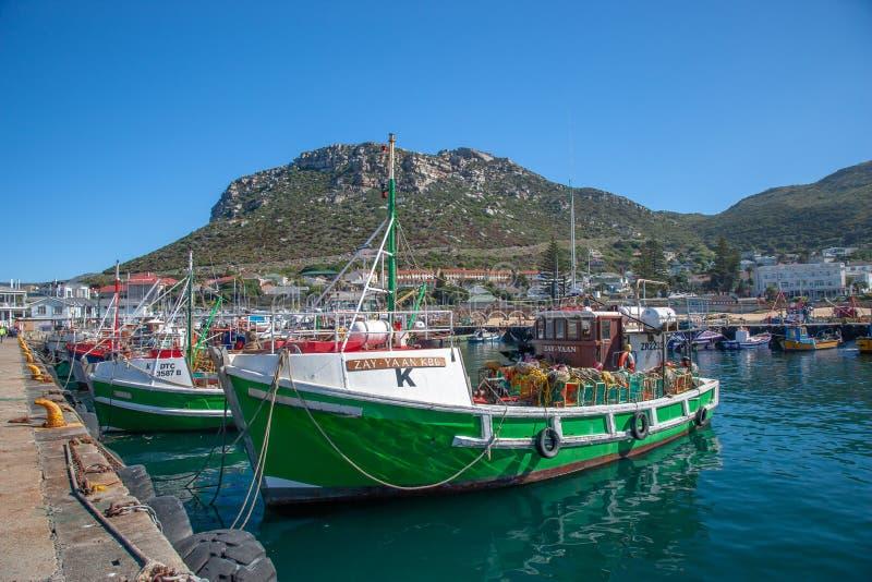 Bah?a Habour, Western Cape, Sur?frica de Kalk foto de archivo libre de regalías