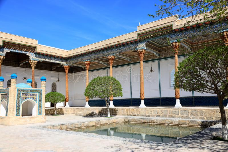 Baha-ud-buller Naqshband komplex i Bukhara royaltyfri foto