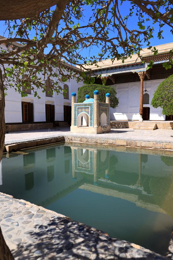 Baha-ud-buller Naqshband komplex i Bukhara arkivfoton