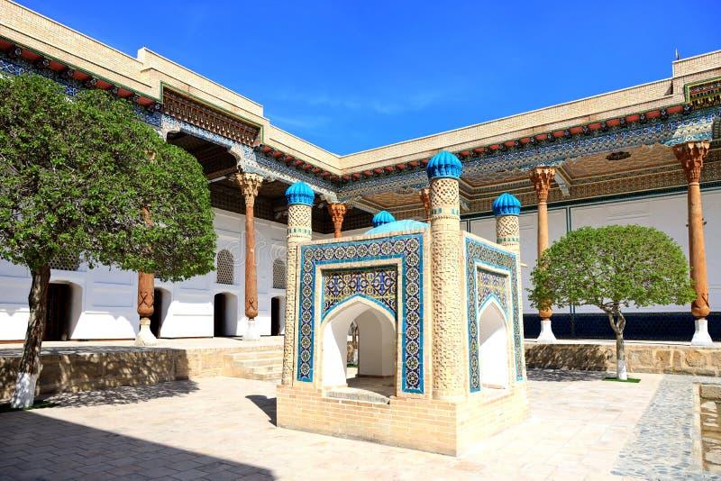 Baha-ud-buller Naqshband komplex i Bukhara arkivbild