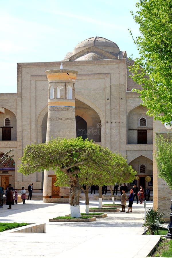 Baha-ud-buller Naqshband komplex i Bukhara fotografering för bildbyråer