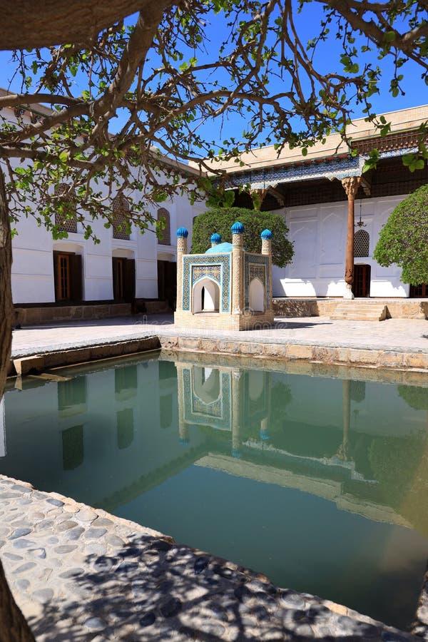 Baha-ud-DIN Naqshband σύνθετο στη Μπουχάρα στοκ φωτογραφίες