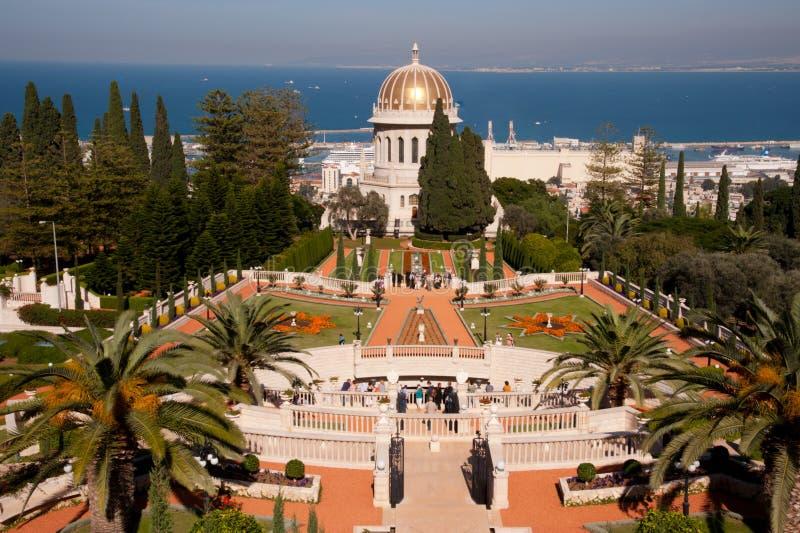 baha uprawia ogródek i fotografia royalty free