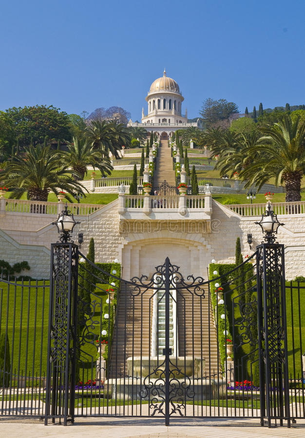 Download Bahai gardens stock photo. Image of holy, haifa, bahaullah - 25162356