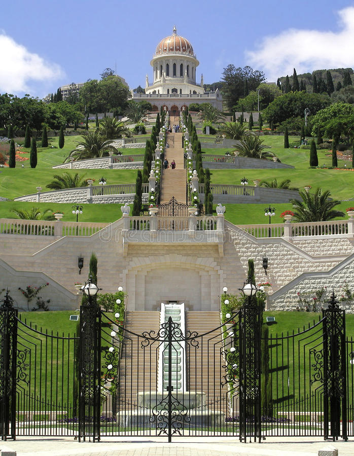 Free Bahai Gardens In Haifa North Israel Stock Image - 12245341