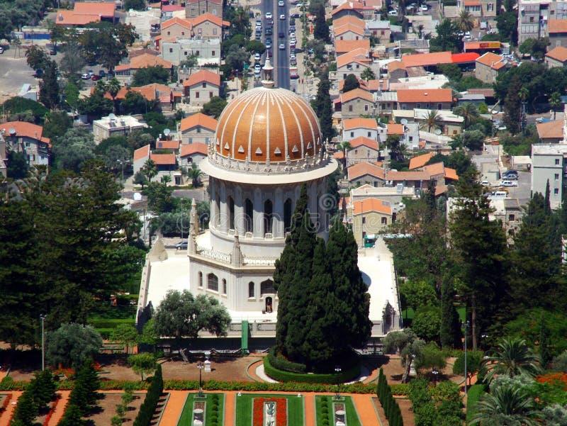 Bahaii World Spiritual Center in Haifa. Holy Land, Israel royalty free stock photography