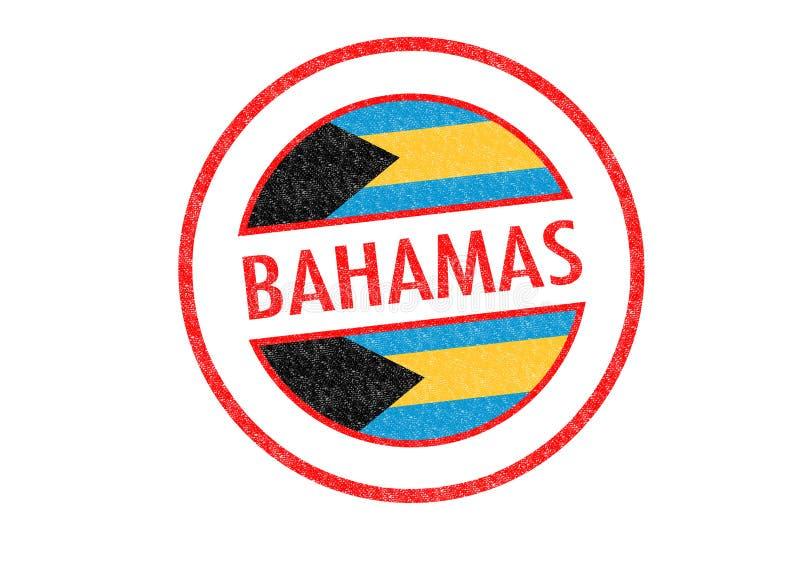 bahamas ilustração do vetor