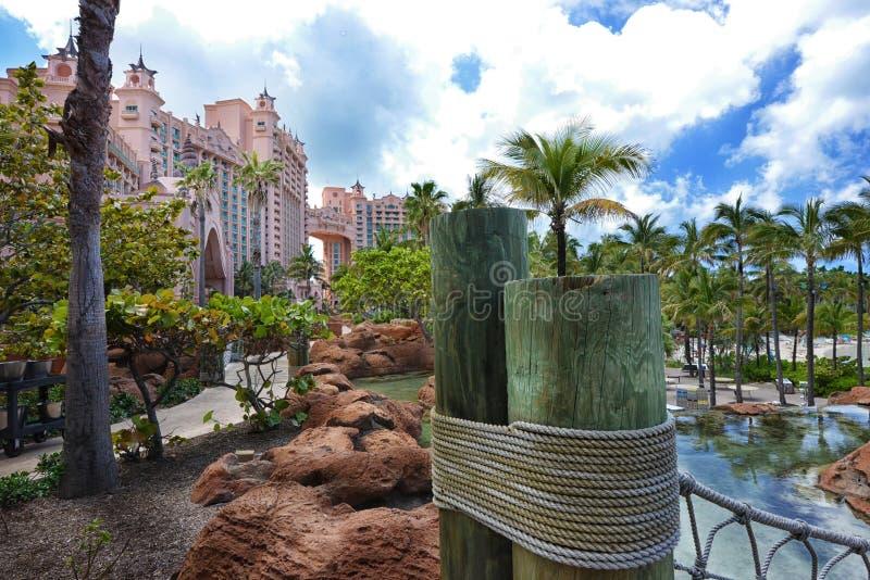 Bahamas de Atlantis fotos de stock royalty free