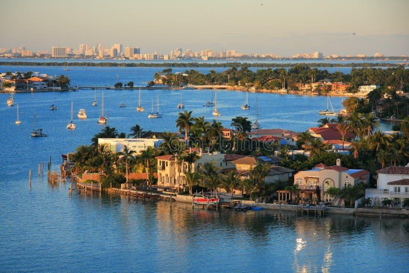 Bahamas molo fotografia royalty free