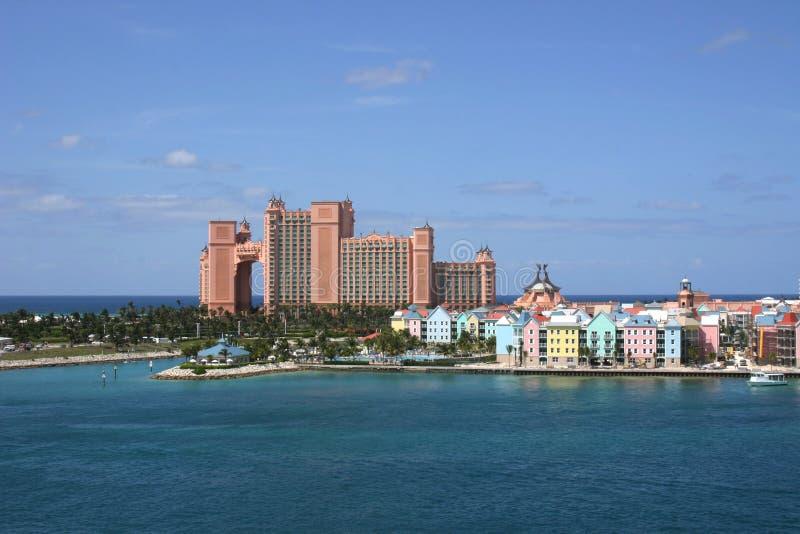Bahamas-Paradies-Insel stockbild