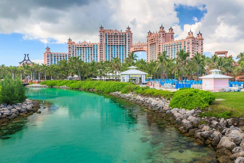 Bahamas pir royaltyfria bilder