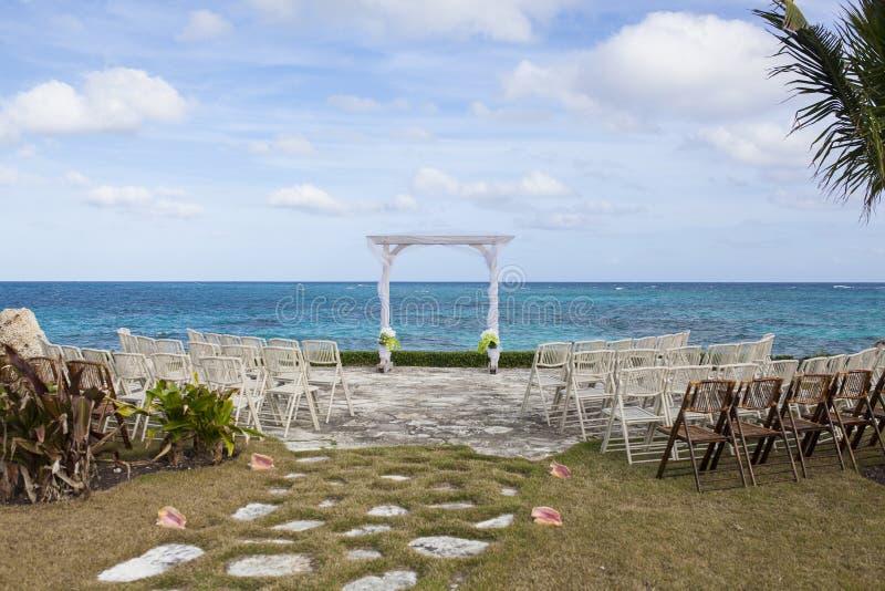 Bahamas poślubia miejsce obraz royalty free