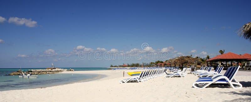 bahamas strand arkivfoto