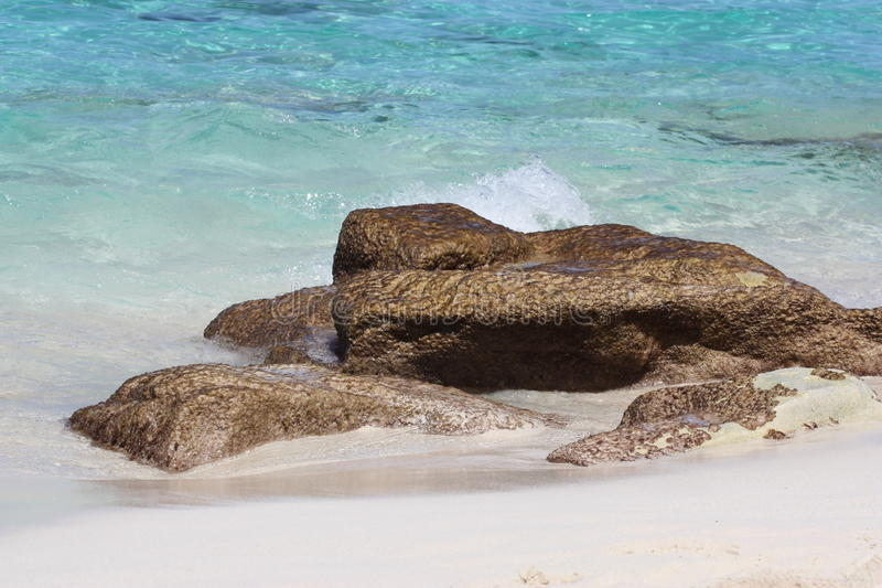 bahamas strand nassau royaltyfri bild