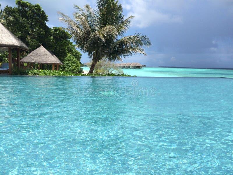 Bahamian wyspy Maldives ty piękny krajobraz zdjęcie stock