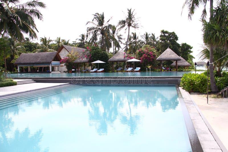 Bahamian wyspy Maldives ty piękny krajobraz obraz stock