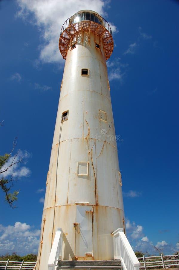 Bahamischer Leuchtturm lizenzfreie stockfotografie
