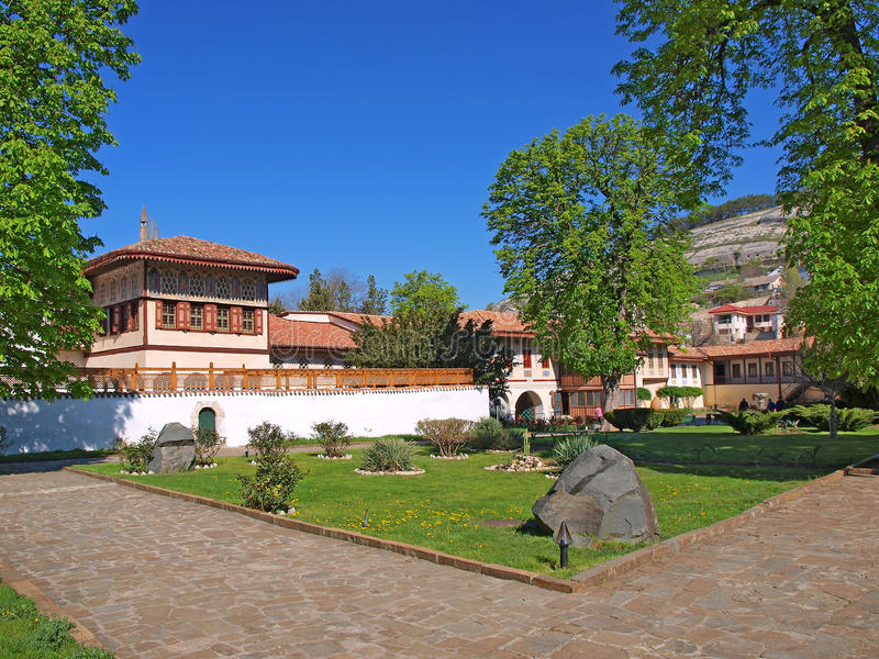 bahchisaray khan παλάτι s της Κριμαίας στοκ εικόνα με δικαίωμα ελεύθερης χρήσης