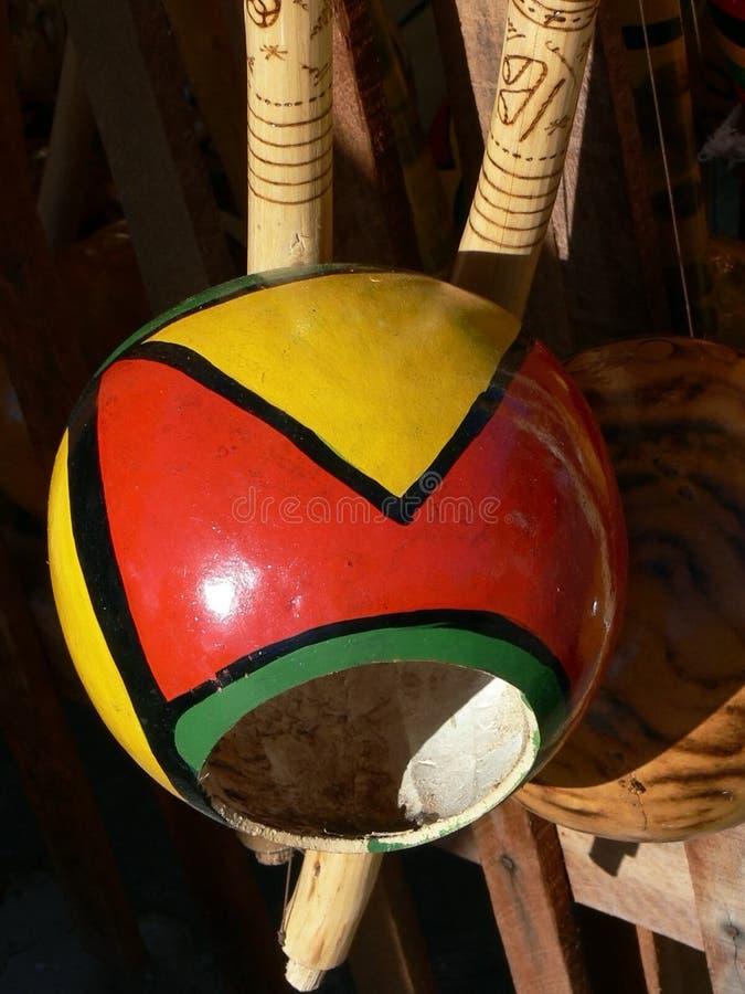 Bahia Berimbau royalty-vrije stock foto's