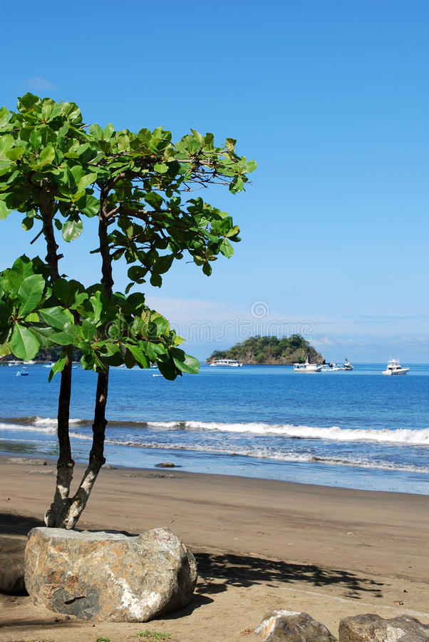 Bahia Coco beach. Papagayo Gulf, Costa Rica, Central America stock images