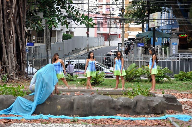 Bahia Dance Festival fotografia stock libera da diritti